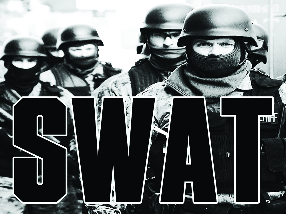 swat team essay The history and purpose of swat swat the acronym invokes so many thoughts - danger, fighting crime, shootings, heavily artillery, tv, movies and more.