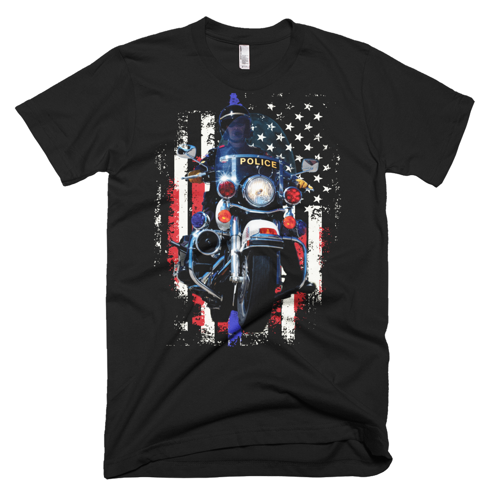 Police motor t shirt police life for Warson motors t shirt